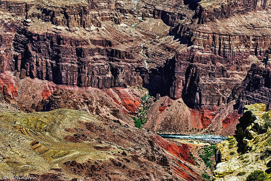 Colorado River In The Grand Canyon High Water Photograph