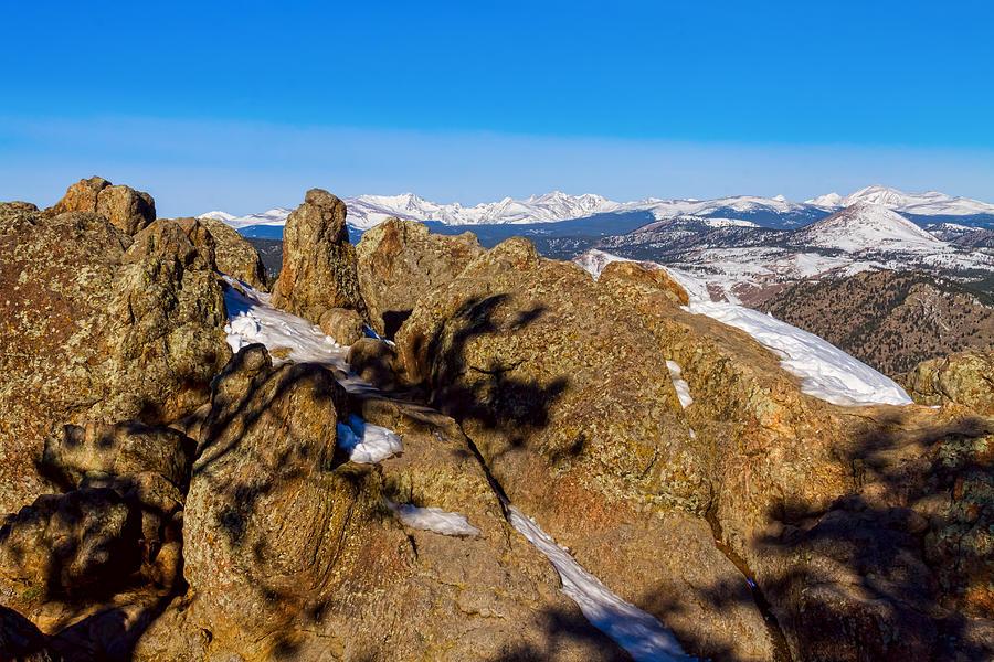 Colorado Rocky Mountain Scenic View Photograph