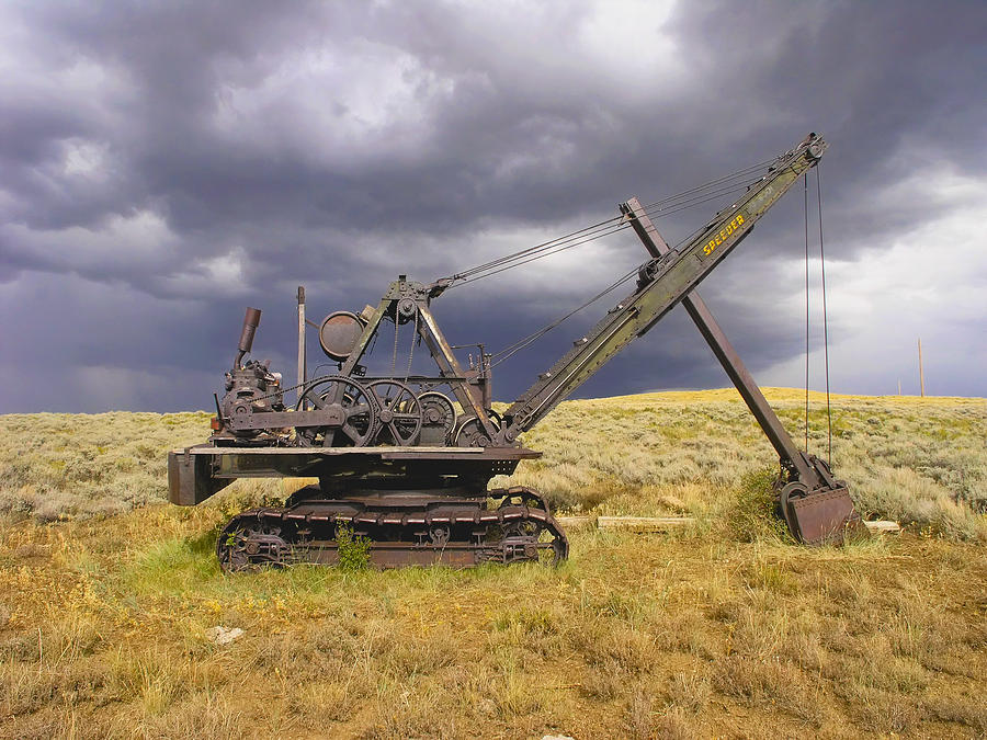 Colorado Steam Shovel Photograph by James Odom