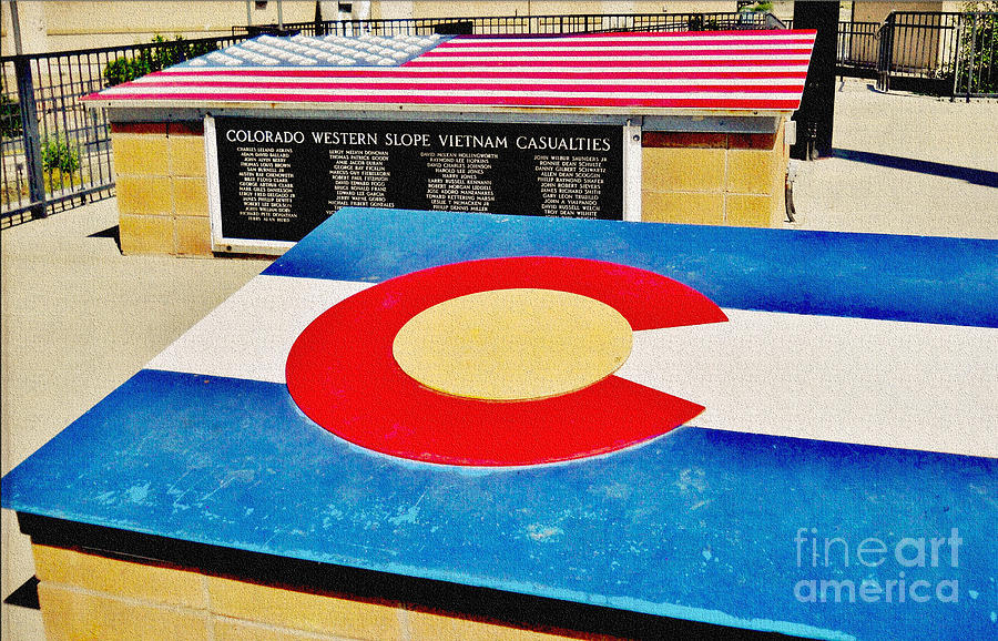 Colorado Western Slope Vietnam Casualities Photograph