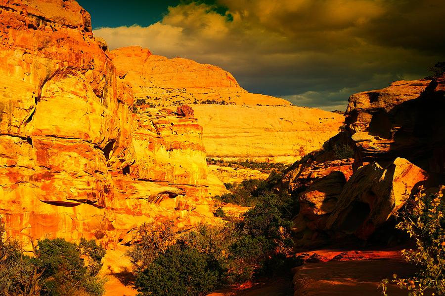 Landscape Photograph - Colorful Capital Reef by Jeff Swan