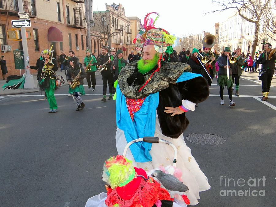 St Patricks Gay Parade Photograph - Colorful Character by Ed Weidman