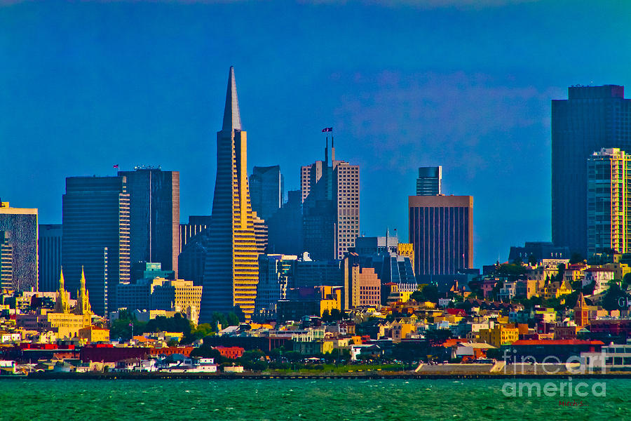 Colorful City By The Bay Photograph