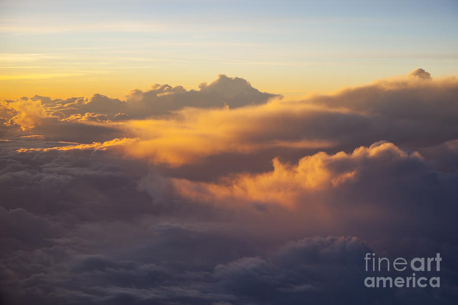Colorful Clouds Photograph