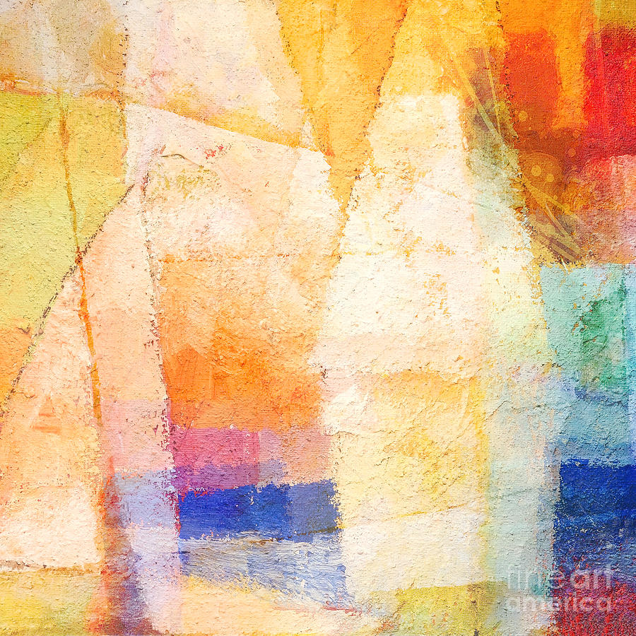 Colorful Day Painting  - Colorful Day Fine Art Print