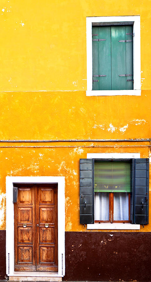 Colorful Entry Photograph  - Colorful Entry Fine Art Print