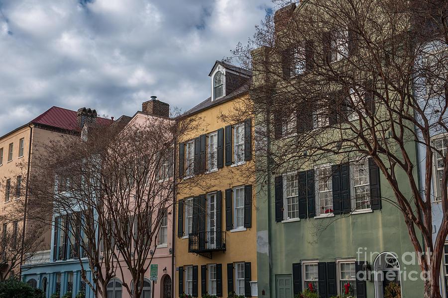 Colorful Homes Of Charleston Photograph