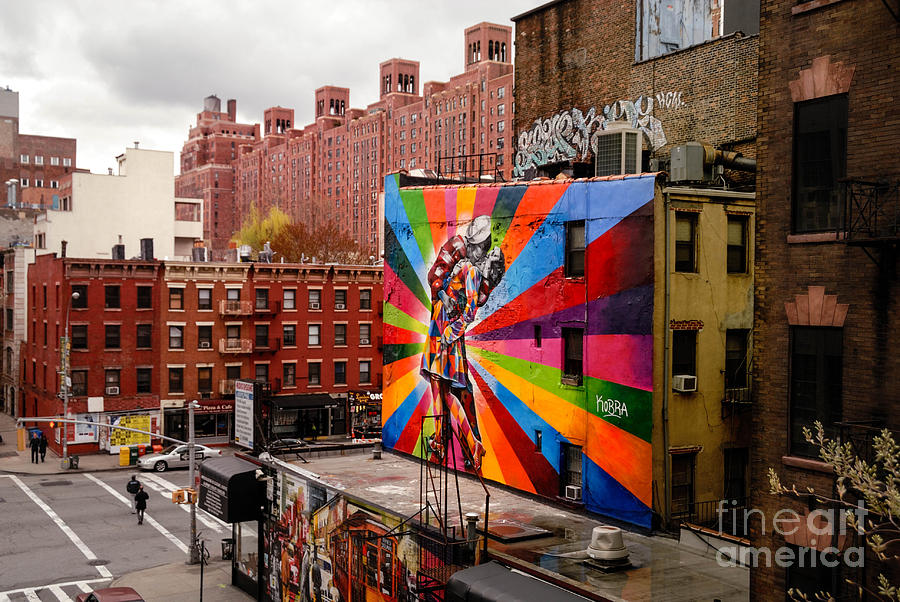 Colorful Mural Chelsea New York City Photograph By Amy Cicconi