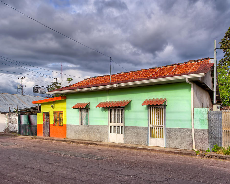 Colorful Streets Of Costa Rica - Liberia Photograph
