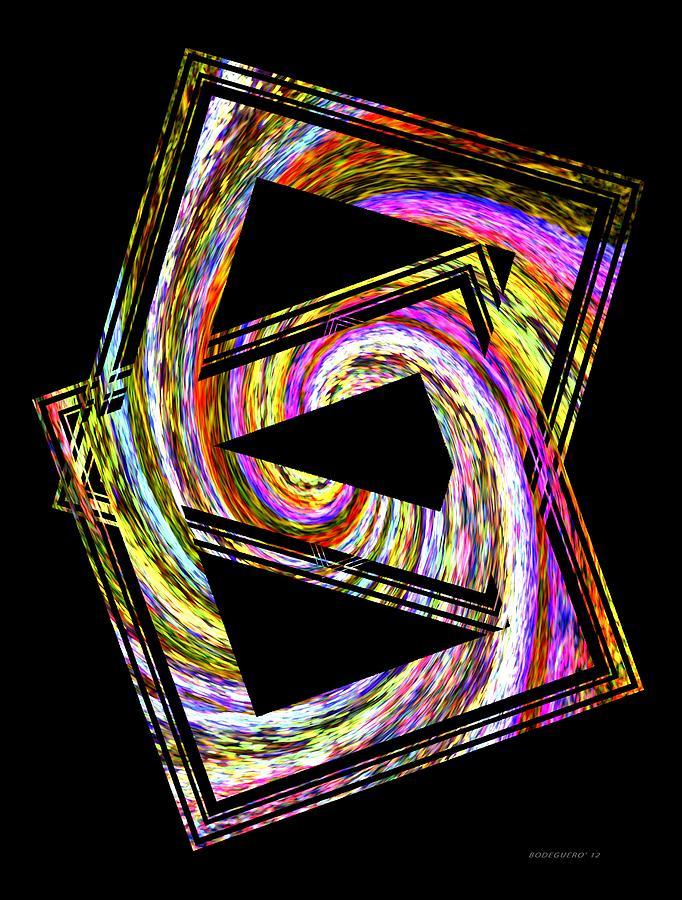Colorful Swirl Digital Art