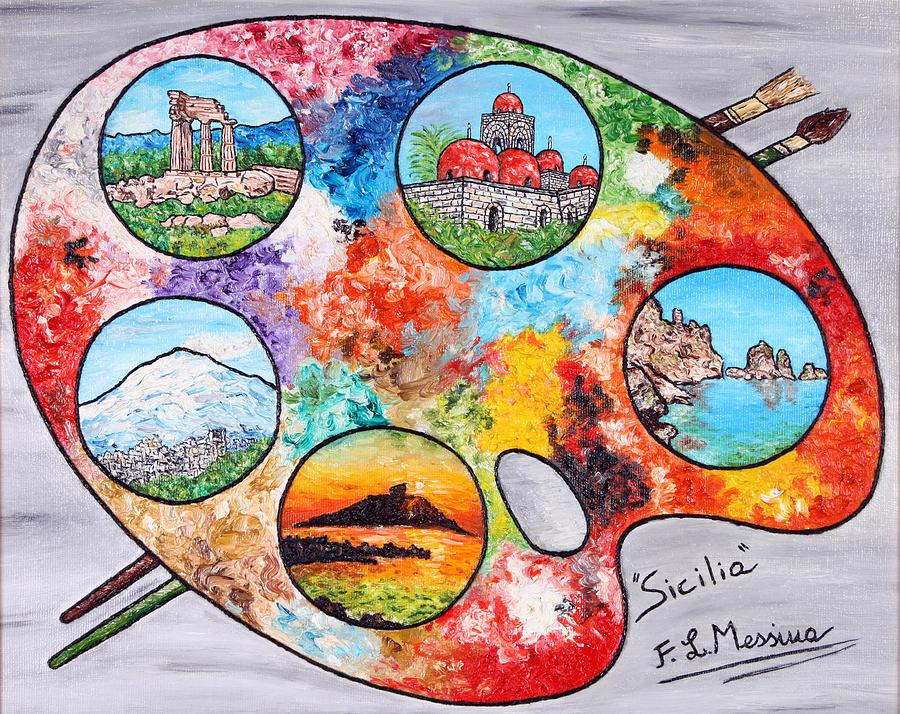 Painting Painting - Colori Di Sicilia by Loredana Messina