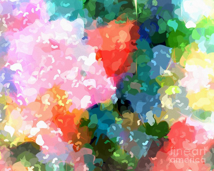 Colorplay Digital Art - Colorplay by Artwork Studio