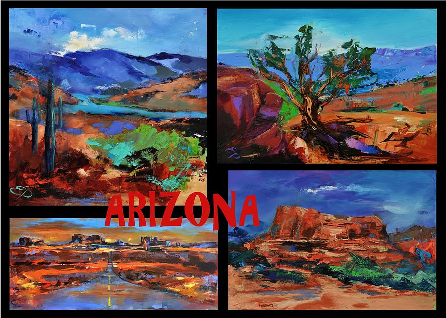 Colors Of Arizona Painting