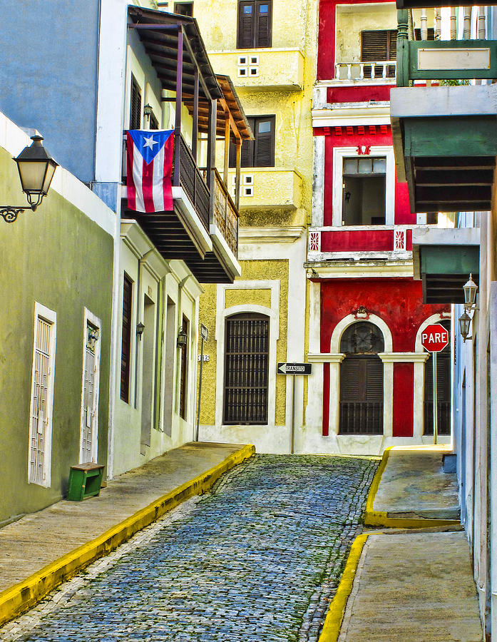 Colors Of Old San Juan Photograph  - Colors Of Old San Juan Fine Art Print
