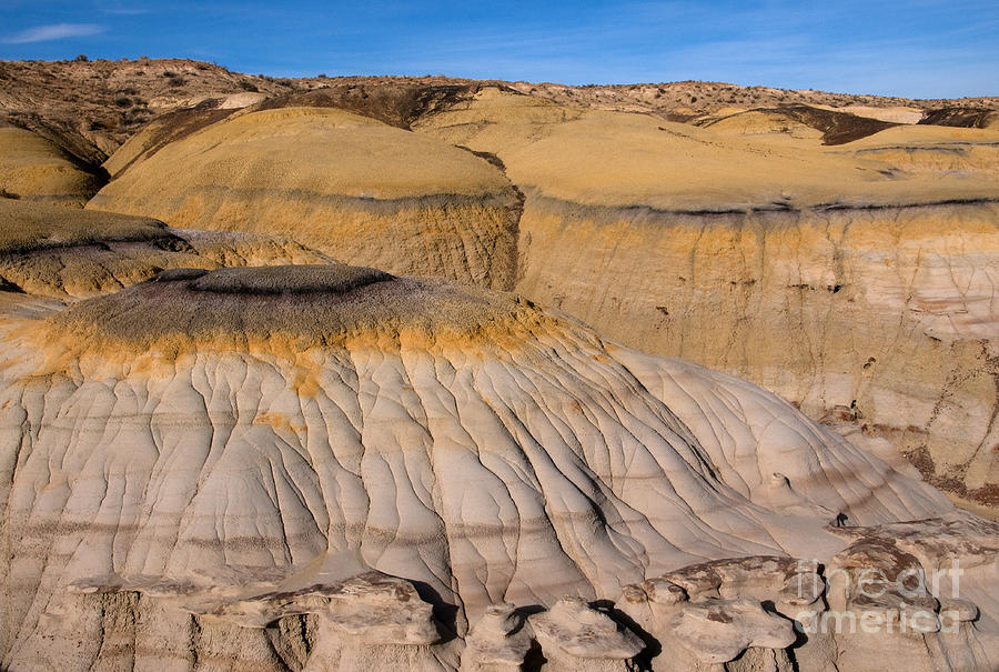 Colors Of The Badlands Photograph