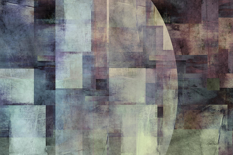 Colors Of Twilight Abstract Art Photograph  - Colors Of Twilight Abstract Art Fine Art Print
