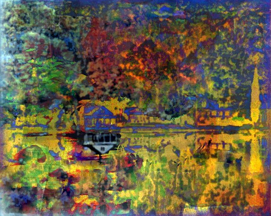 Colors On The Lake Mixed Media