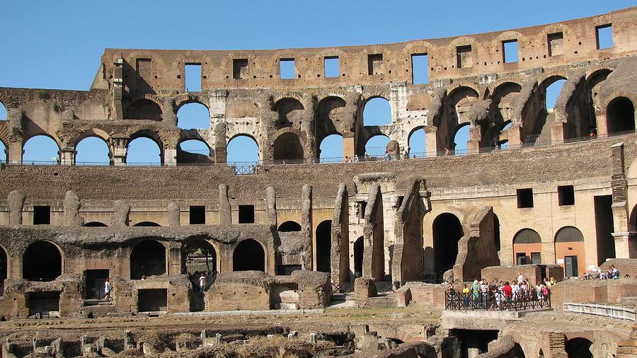 Colossem Rome Photograph
