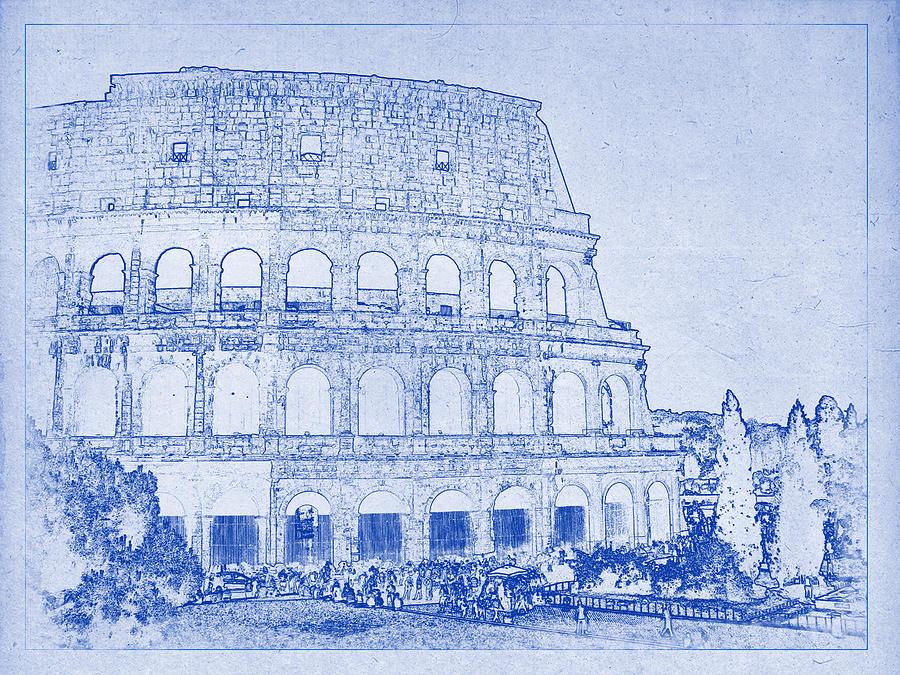 roman colosseum architecture - Google Search   HOA ...  Roman Colosseum Blueprints