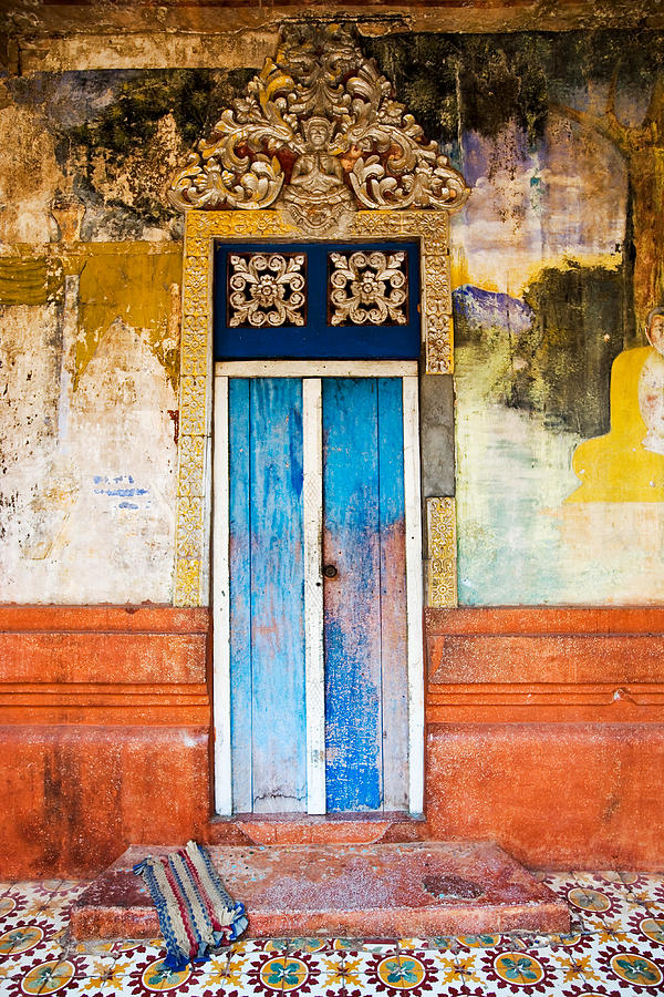 Colourful Door Photograph