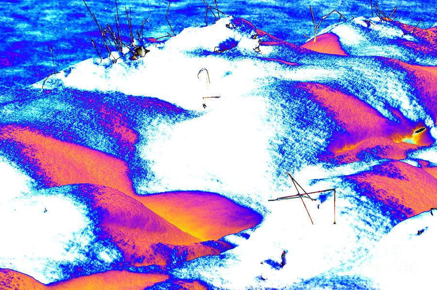 Colourful Snow Digital Art