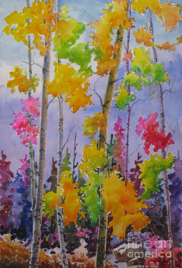 Autumn Painting - Colours Of Fall by Mohamed Hirji