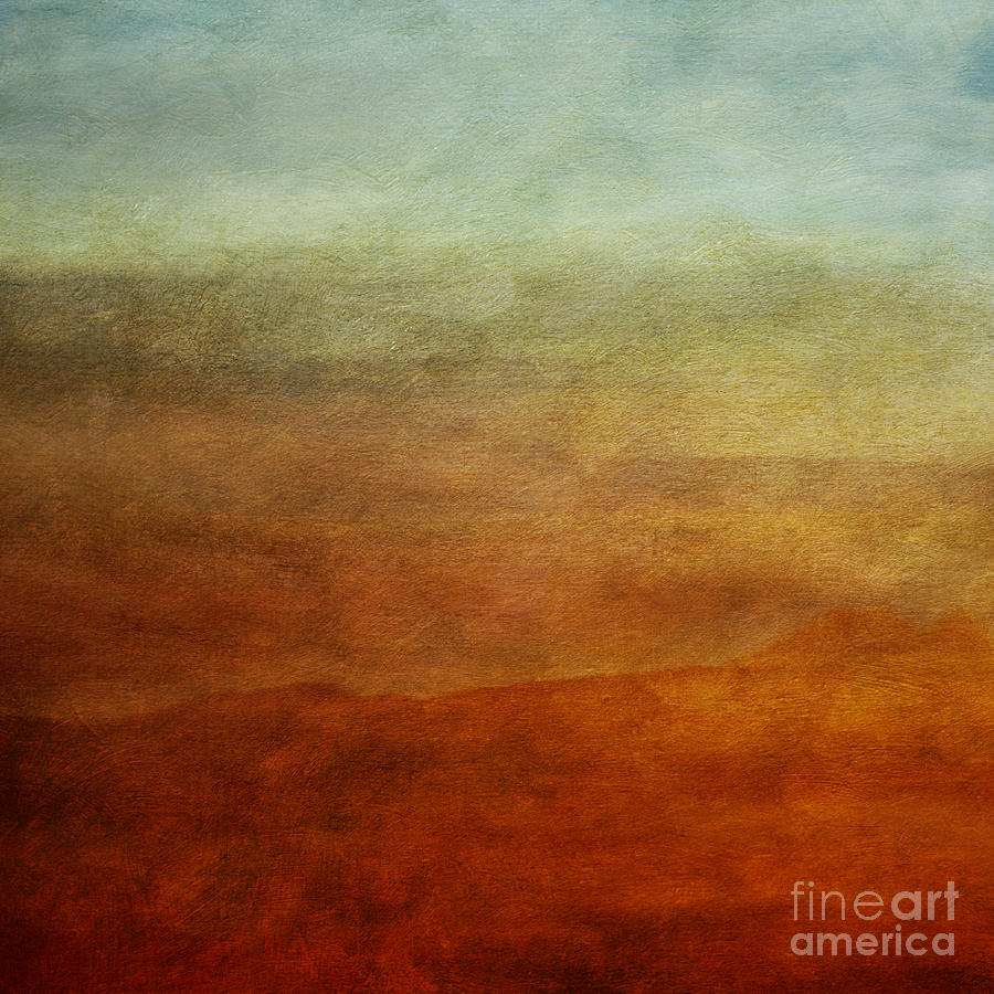 Abstraction Photograph - Colours Of The Fall by Priska Wettstein