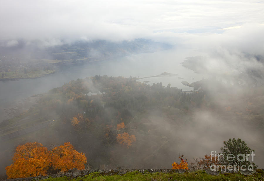 Columbia River Hidden Photograph  - Columbia River Hidden Fine Art Print