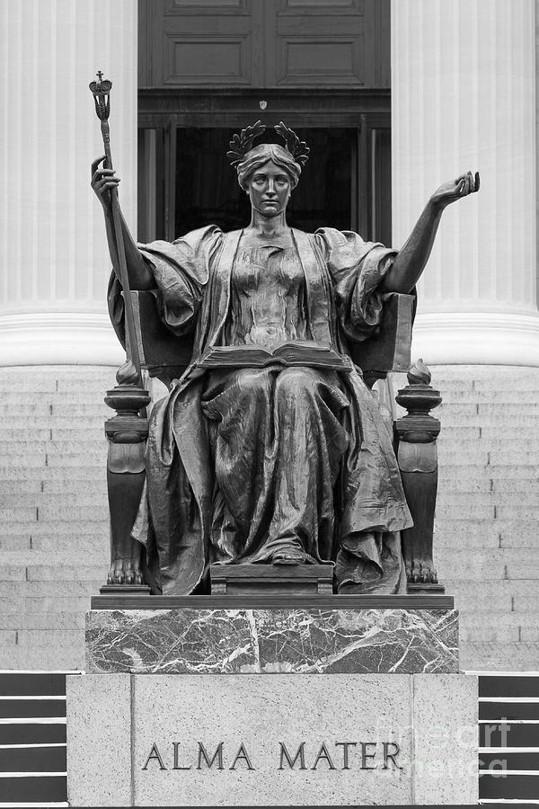Columbia University Alma Mater Photograph