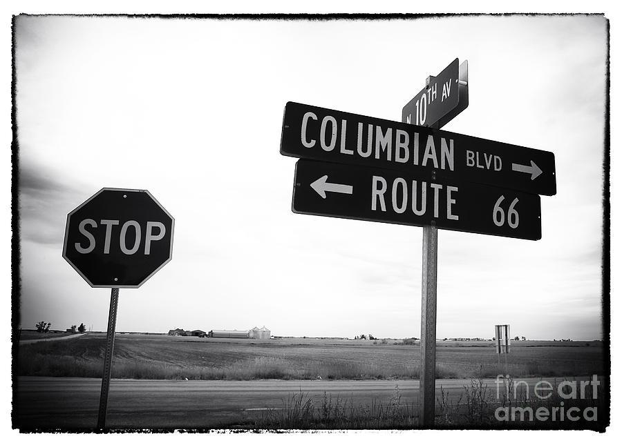Columbian Boulevard Photograph - Columbian Boulevard by John Rizzuto