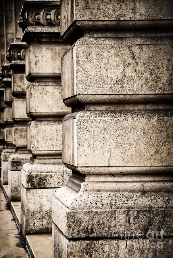 Column Photograph - Columns by Elena Elisseeva