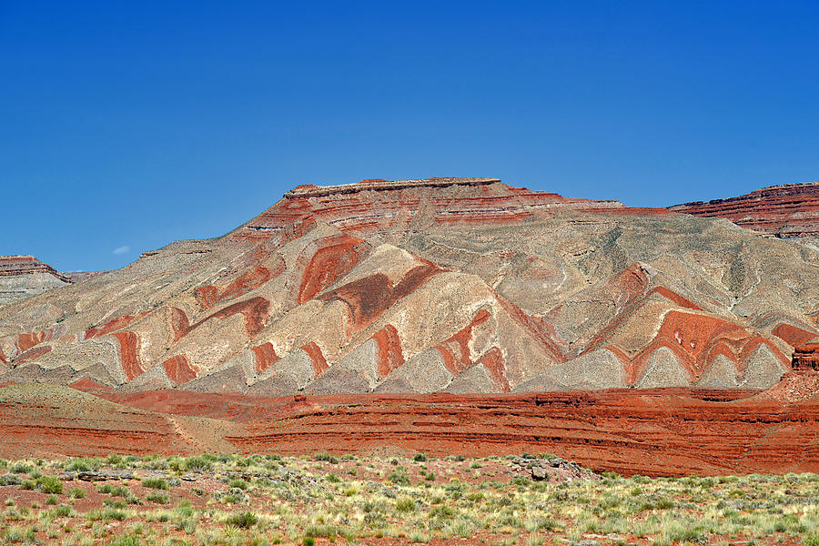 Comb Ridge Utah Near Mexican Hat Photograph