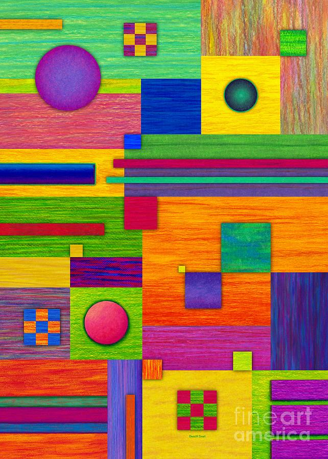 Combination 2 Painting  - Combination 2 Fine Art Print