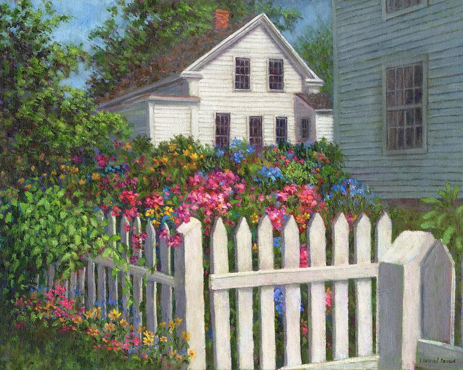 Summer Painting - Come Into The Garden by Susan Savad