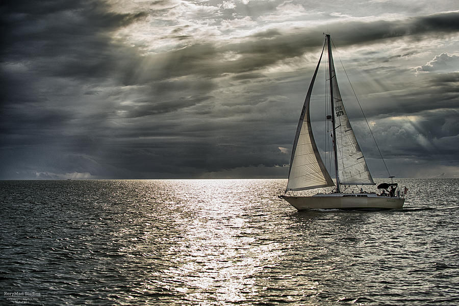 Sailboat Photograph - Come Sail Away by Michael White