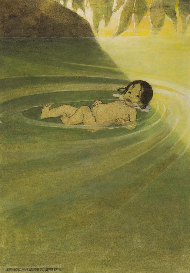 Comfortable Circa 1916 Painting