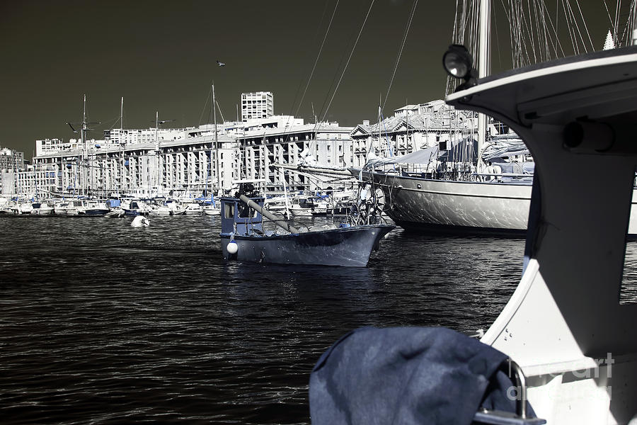 Coming Home In Marseille Photograph