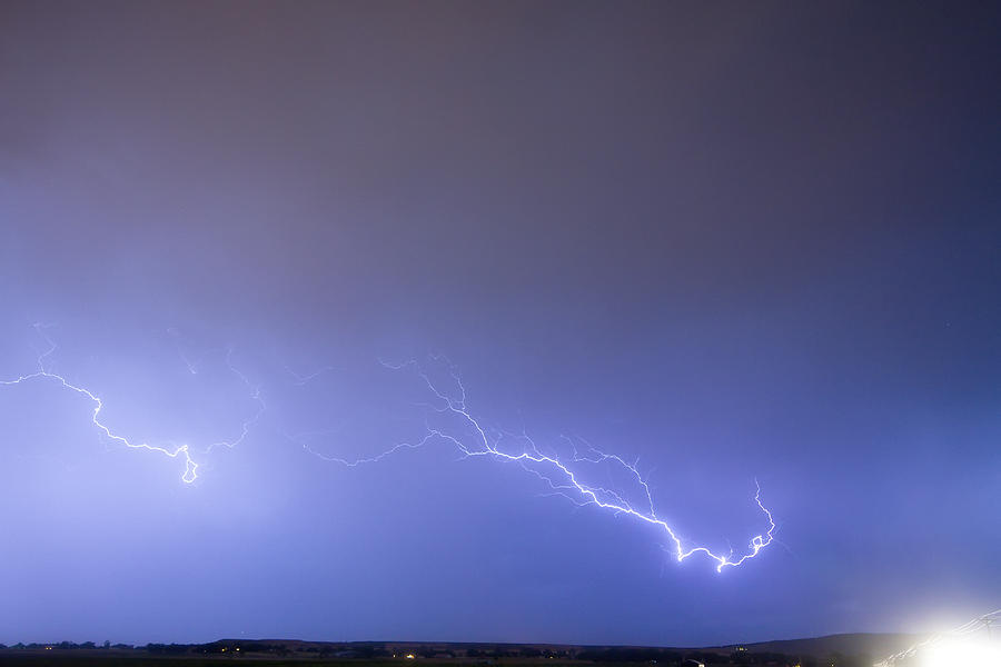 Lightning Photograph - Coming In For A Landing by James BO  Insogna