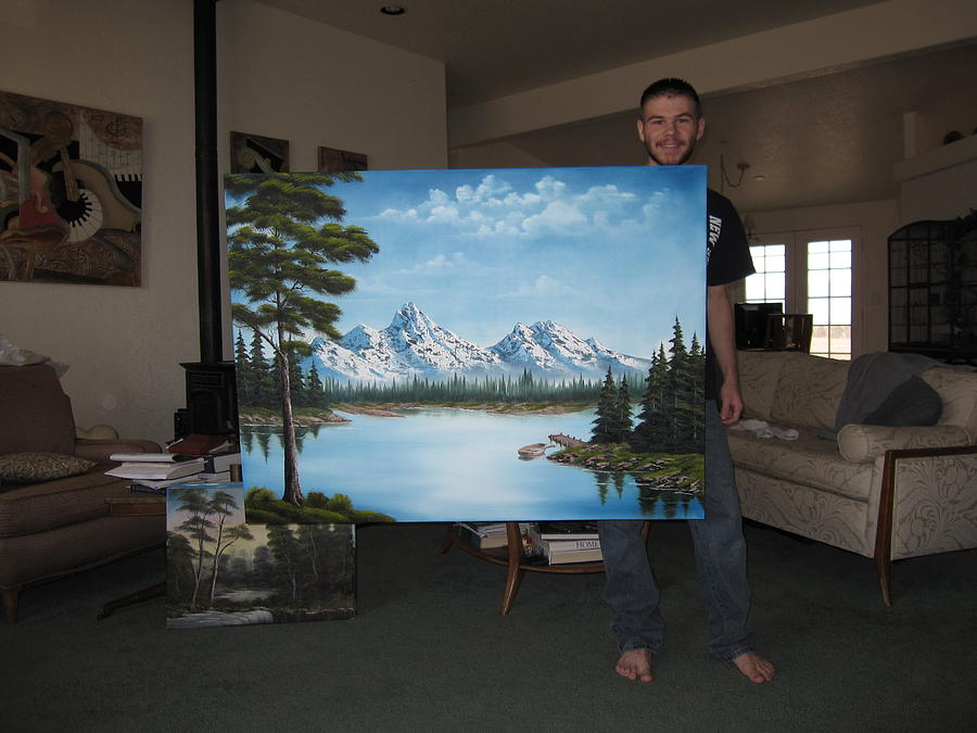 Commissioned Painting     Sold Painting