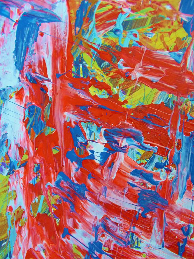 Original Painting - Commotion by Artist Ai