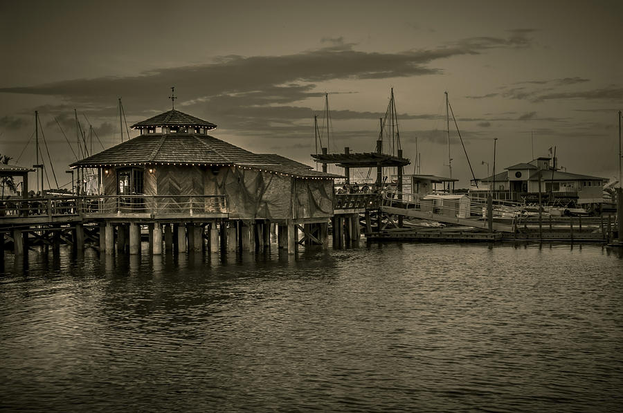 Conch House Marina Photograph  - Conch House Marina Fine Art Print