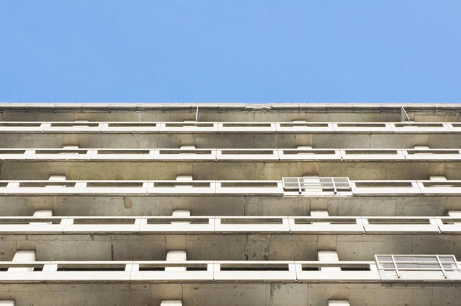 Concrete Building Photograph