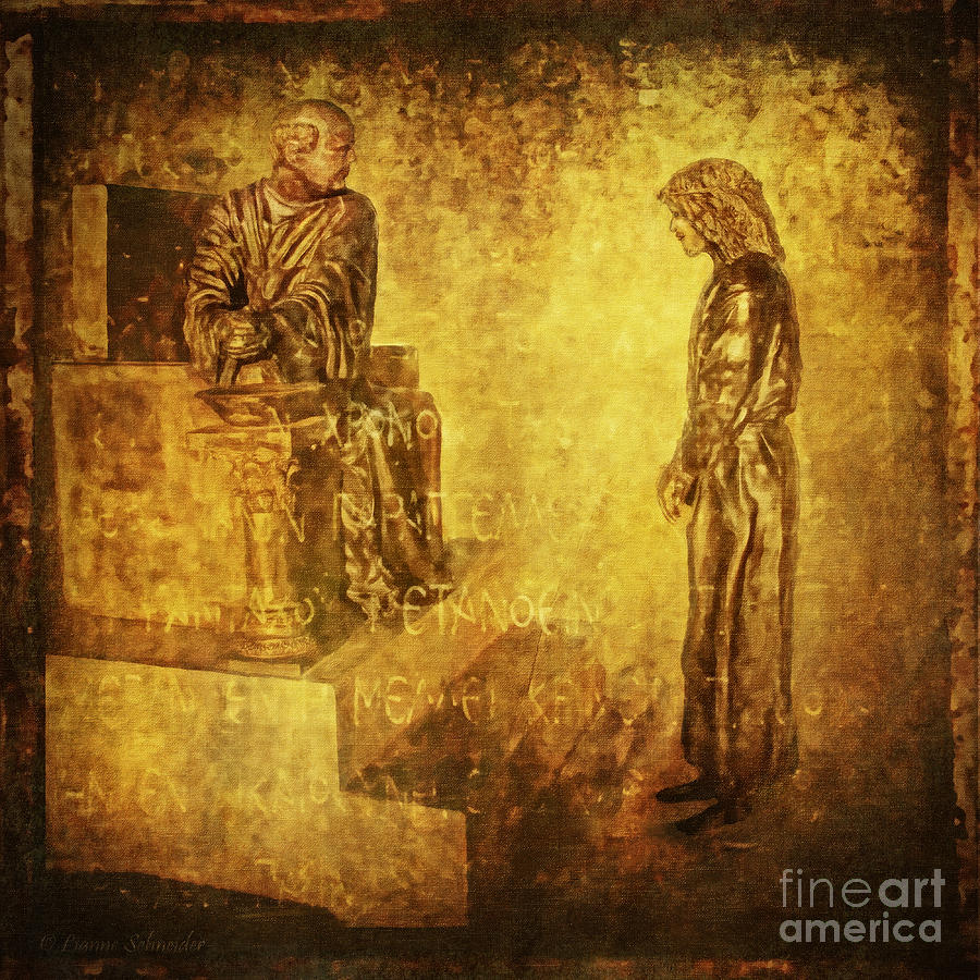 Condemned Via Dolorosa1 Digital Art  - Condemned Via Dolorosa1 Fine Art Print