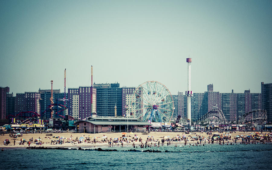 Coney Island Photograph - Coney Island Dream by Frank Winters