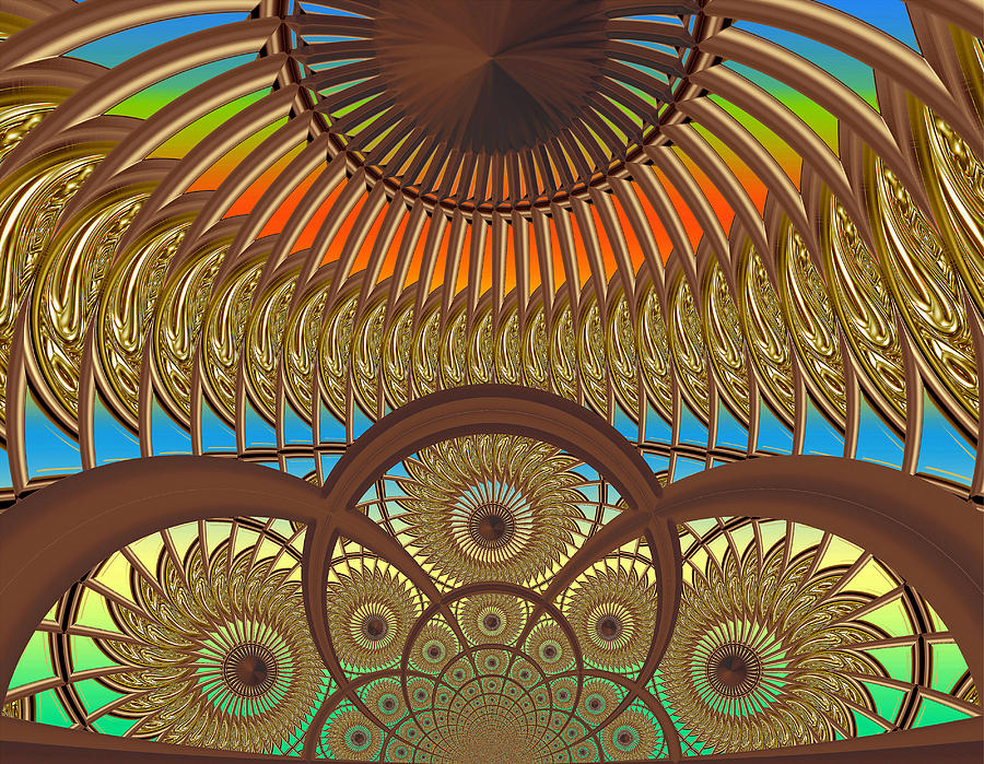 Conservatory - Sunset Digital Art