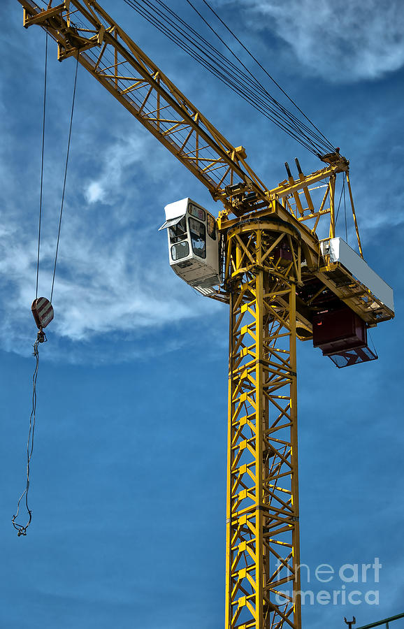 Construction Crane Asia Photograph