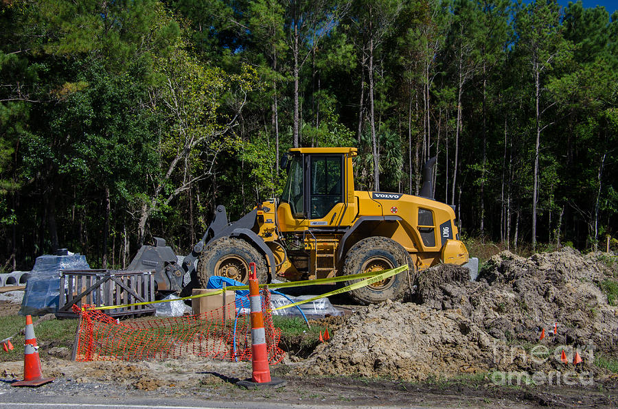 Construction Earth Moving Photograph