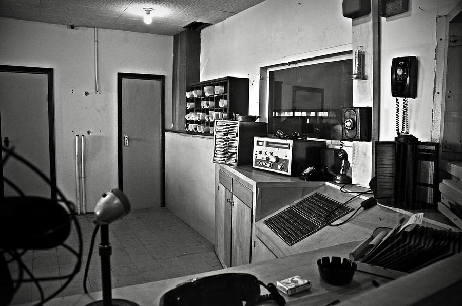 Control Photograph - Control Room In Alcatraz Prison by RicardMN Photography