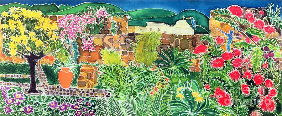Convent Gardens Antigua Painting