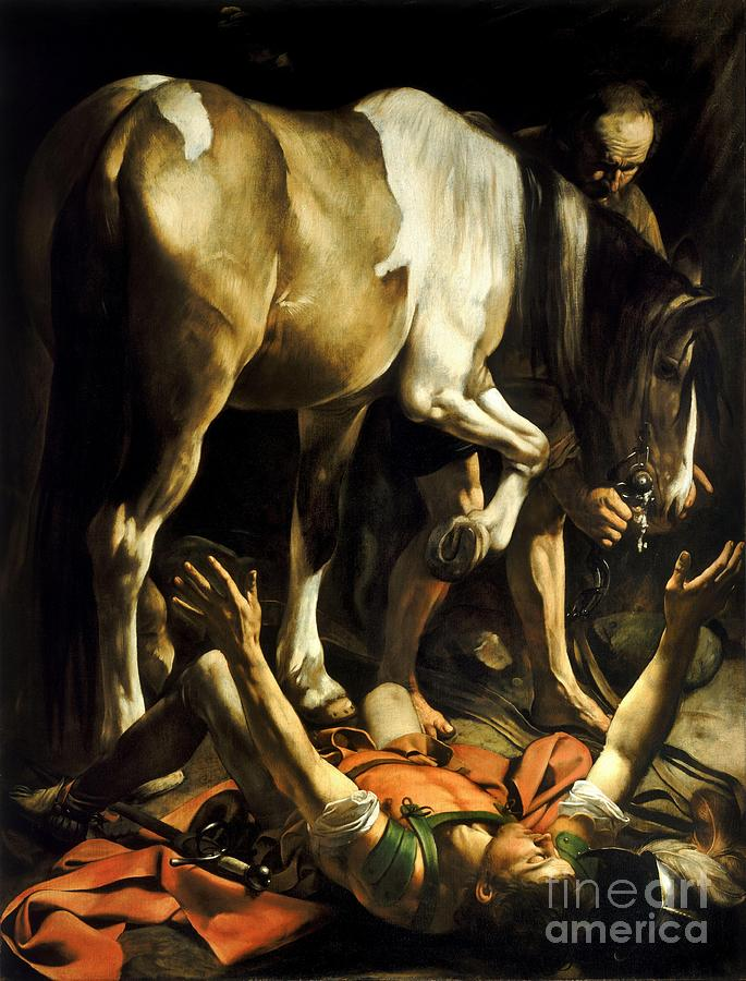 Conversion Of Saint Paul Painting